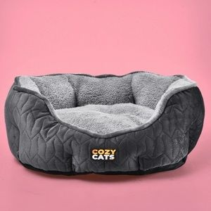 Stormy Cozy Cats Bed